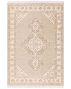 Rug folk Cream/Taupe