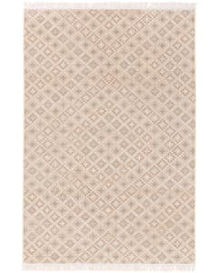 Rug folk Beige/Blue