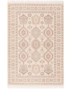 Rug folk Beige/Rose
