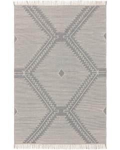 Cotton Rug Sydney Light Grey