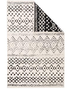 Reversible Rug Lola White/Black