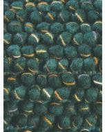 Wool rug Cobble Green