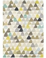 Wool rug Lulu Beige/Green