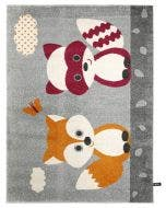 Kids rug Fantasia Orange