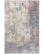 Viscose Rug Vito Beige/Purple