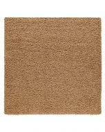 Shaggy rug Swirls Light Brown