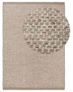 Wool rug Rocco Taupe