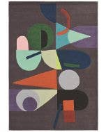Wool rug Estella Multicolour/Charcoal