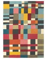 Wool rug Estella Multicolour