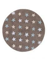 Washable Kid´s Rug Bambini Stars Blue
