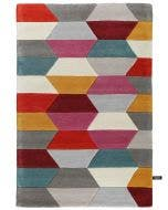 Wool rug Funk Multicolour