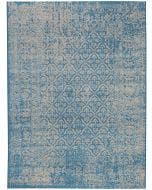 Rug Antique Blue