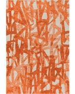 Flat Weave Rug Stay Orange