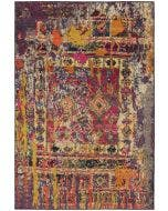 Rug Liguria Multicolour/Red