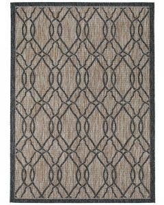 In- & Outdoor Rug Cleo Light Brown