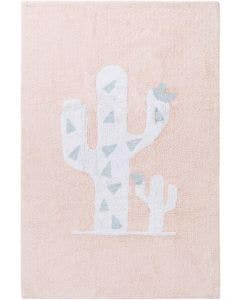 Washable Kid´s Rug Inka Cactus Rose