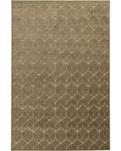 Viscose Rug Woody Beige/Green