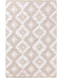 Washable Cotton Rug Oslo Cream/Beige