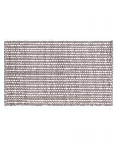 Bath Rug Bono Grey/White
