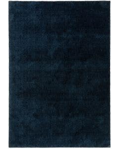 Washable Shaggy Rug Lahty Dark Blue