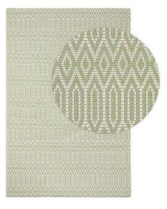 Washable Cotton Rug Cooper Green