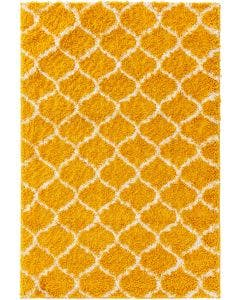 Shaggy rug Soho Yellow
