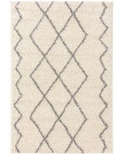 Shaggy rug Soho Cream