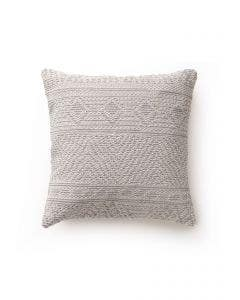Cushion Cover Naxos Light Grey