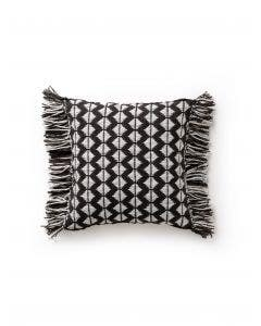 In- & Outdoor cushion morty Black/White