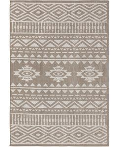 In- & Outdoor Rug Nillo Grey/Taupe