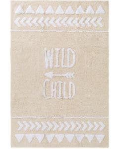 Washable Kid´s Rug Inka Wild Child Beige