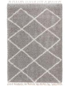 Shaggy rug Ebba Grey