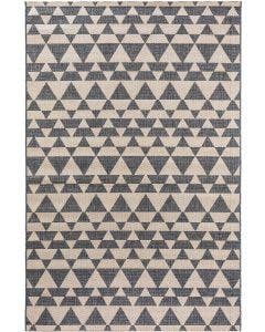 In- & Outdoor Rug river Beige/Blue