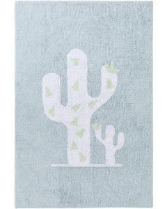 Washable Kid´s Rug Inka Cactus Light Blue