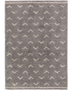 Shaggy rug Selma Grey