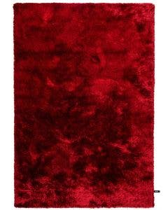 Shaggy rug Whisper Red