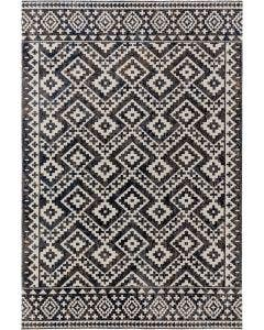 In- & Outdoor Rug Jerry Black/White