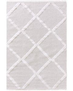 Washable Cotton Rug Oslo Cream