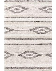 Shaggy rug Gobi Cream/Grey