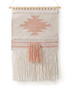 Wall Hanging Mika Cream/Pink