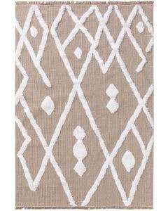 Washable Cotton Rug Oslo Grey