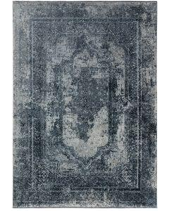 Viscose Rug zaza Blue/Grey