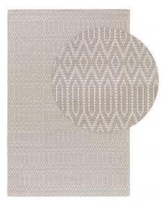 Washable Cotton Rug Cooper Light Grey