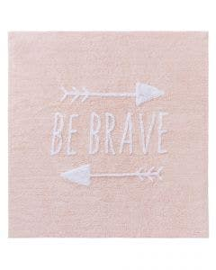 Washable Kid´s Rug Inka Be Brave Rose
