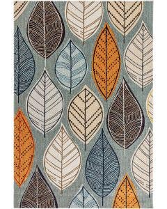 In- & Outdoor Rug Jerry Multicolour/Grey
