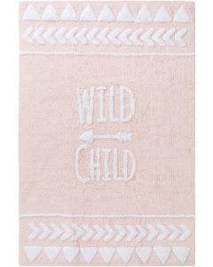 Washable Kid´s Rug Inka Wild Child Rose