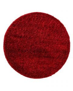 Shaggy rug Soho Dark Red