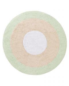 Washable Kid´s Rug Inka Tricolore Light Green