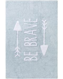 Washable Kid´s Rug Inka Be Brave Light Blue