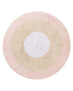 Washable Kid´s Rug Inka Tricolore Rose
